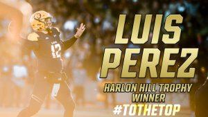 Luis Perez - Harlon Hill Winner