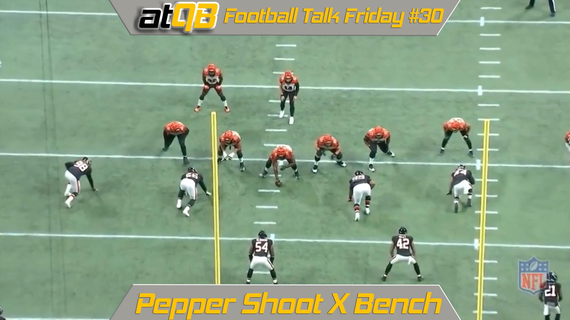 New Cincinnati Bengals Pepper Shoot X Bench Jenkins Elite  hot sale